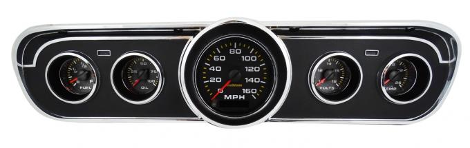 Intellitronix 1965-1966 Ford Mustang Analog Gauge Panel AP7001