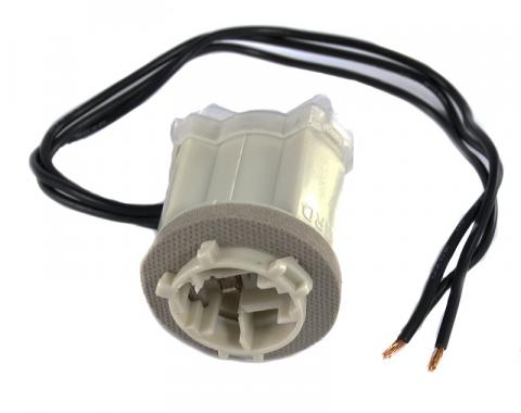 Pony Enterprises 1990-1993 Mustang Front Parking Turn Signal Light 3157A Socket Pigtail Connector 1135