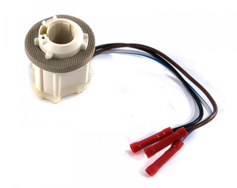 Pony Enterprises 1987-1989 Mustang Front Parking & Turn Signal Light Socket Pigtail 2357A 1157A 1128