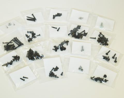 Pony Enterprises 1987-1993 Mustang LX GT Hatchback Interior Hardware Screws Kit 150pc. 862