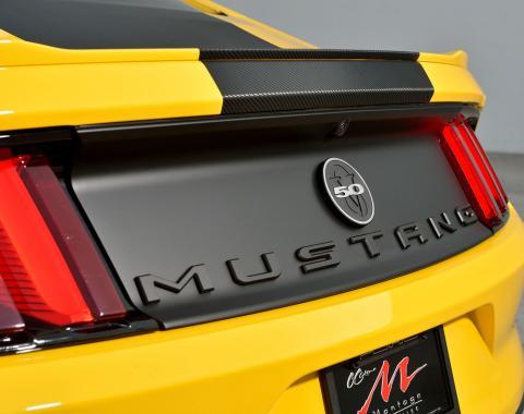 DefenderWorx Mustang Trunk Letters Matte Black 900721