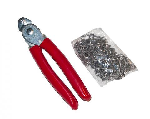 OER Upholstery Installation Kit with Heavy Duty Pliers and Hog Rings *K10010