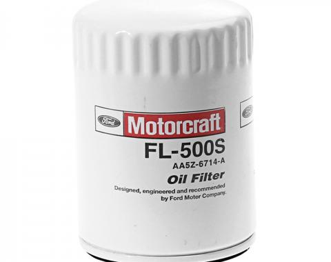 Mustang Motocraft Oil Filter, FL500S, 2011-2018