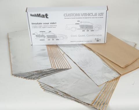 HushMat Volkswagen Touareg 2004-2017   Sound and Thermal Insulation Kit 68260