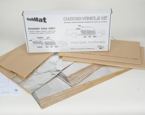 HushMat Jeep Cherokee 1984-2001   Sound and Thermal Insulation Kit 66512