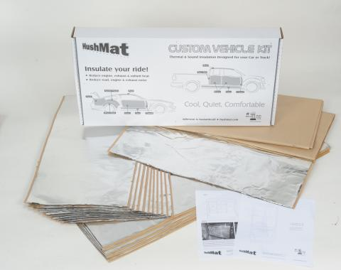 HushMat Flat Top Truck 48 in. Sleeper and Floor Insulation Kit. 81102