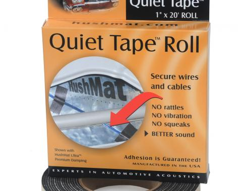 "HushMat Quiet Tape Shop Roll - One 1"" x20'x1mm Single Side Foam Tape ea 30300"