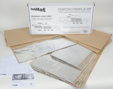 HushMat Jeep TJ 1997-2006   Sound and Thermal Insulation Kit 66522