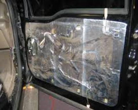 HushMat Jeep Grand Cherokee 2011-2018   Door Sound Deadening Insulation Kit 665323