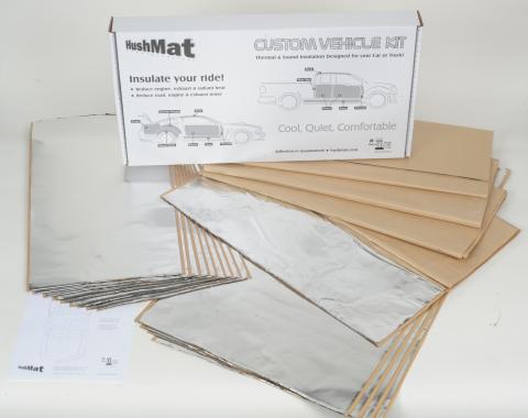 HushMat Chevrolet Trailblazer 2002-2009   Sound and Thermal Insulation Kit 62859