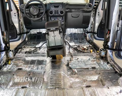 HushMat  Floor Deadening and Insulation Kit 665151