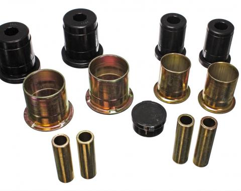 Mustang Front Control Arm Bushing Kit, Black Polyurethane, 1994-2002