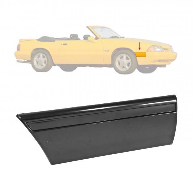 Daniel Carpenter 1987-1990 Mustang Unpainted Front Fender Body Molding Moulding Right RH Side E7ZZ-16068