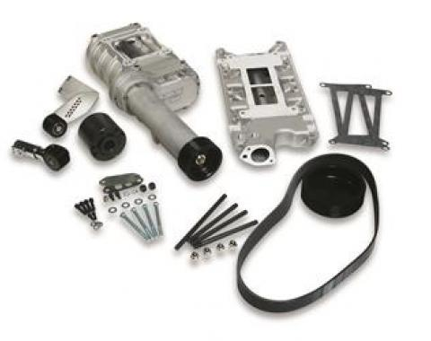 Weiand 77-174FSB-1 Supercharger Kit, 174 Pro-Street, For Use With Small Block Ford Engines