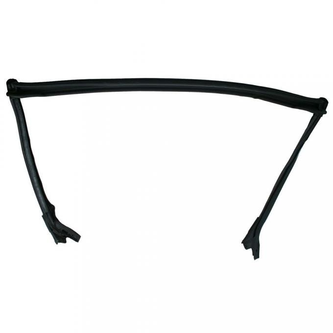 Daniel Carpenter 2000-2004 Ford Mustang Convertible Header Weatherstrip With Pillar Post Weatherstrip One-Piece G1ZZ-7603110