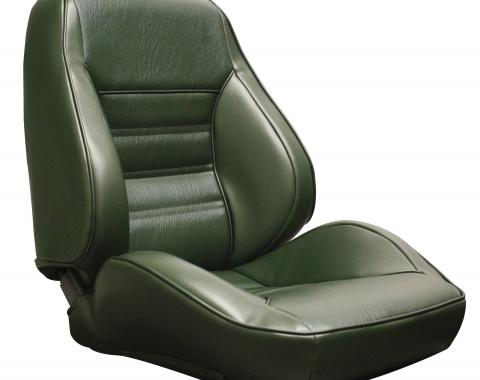 Distinctive Industries 1970 Mustang Standard Touring II Assembled Front Bucket Seats 060040
