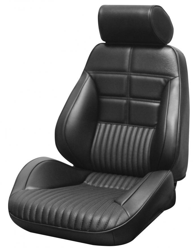 Distinctive Industries 1969 Mustang Deluxe/Grande Touring II Assembled Front Bucket Seats 060030