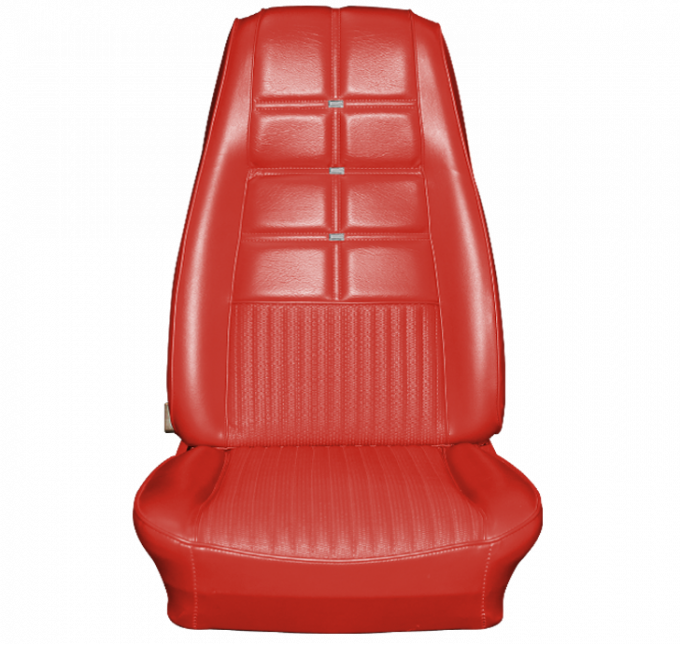 Distinctive Industries 1970 Mustang Deluxe/Grande Coupe with Buckets Front & Rear Upholstery Set 068759