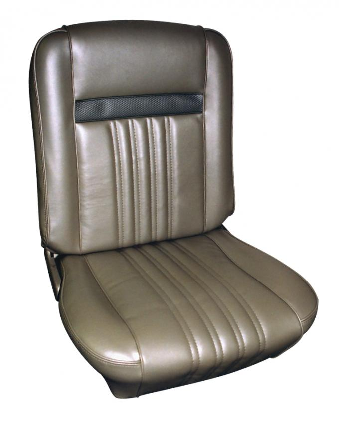Distinctive Industries 1968 Cougar Décor Hardtop Front Bucket Seat Upholstery 107003