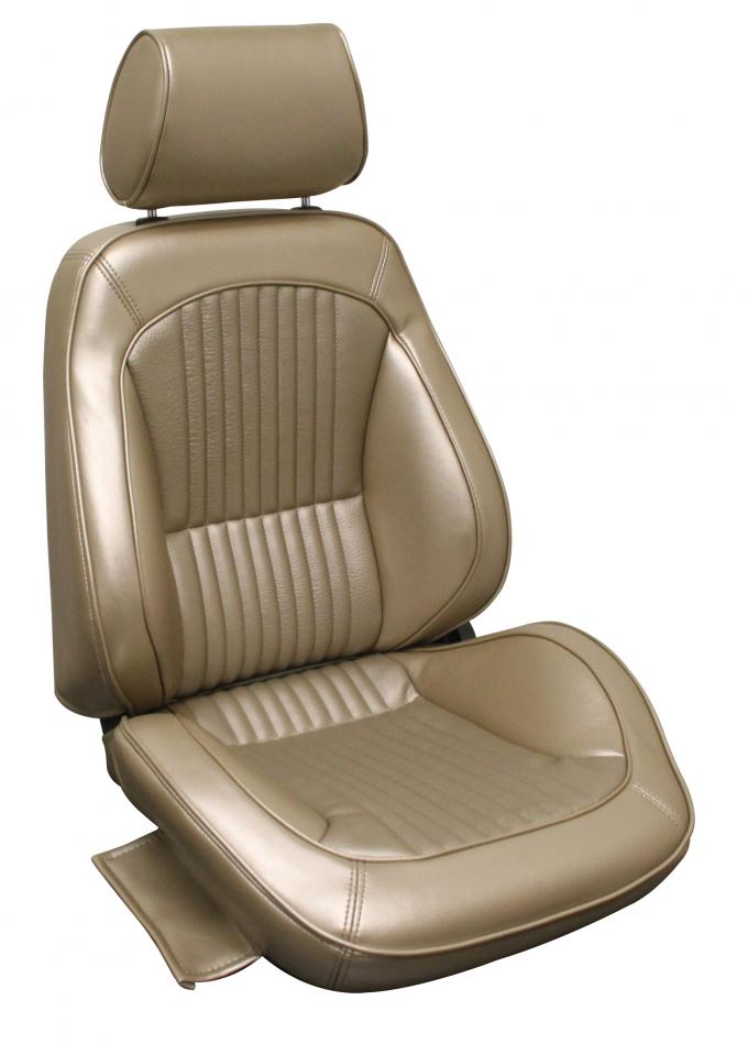 Distinctive Industries 1968 Mustang Standard Touring II Assembled Front Bucket Seats 060015