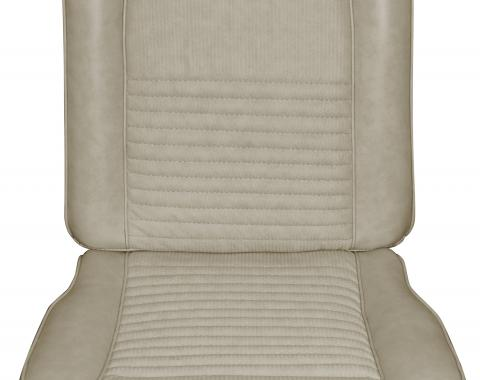 Distinctive Industries 1967 Mustang Deluxe/Shelby Front Bucket Seat Upholstery with Simulated Comfortweave 068168