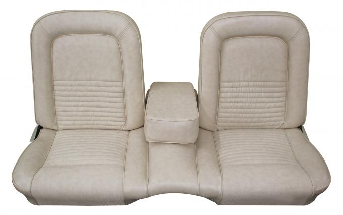Distinctive Industries 1967 Mustang Deluxe/Shelby Front Bench Seat Upholstery with Simulated Comfortweave 068173