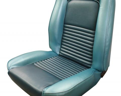 Distinctive Industries 1967 Mustang Standard Touring Coupe with Buckets Front & Rear Upholstery Set 068213