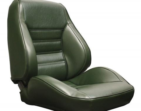 Distinctive Industries 1971-73 Mustang Standard Touring II Assembled Front Bucket Seats 060055