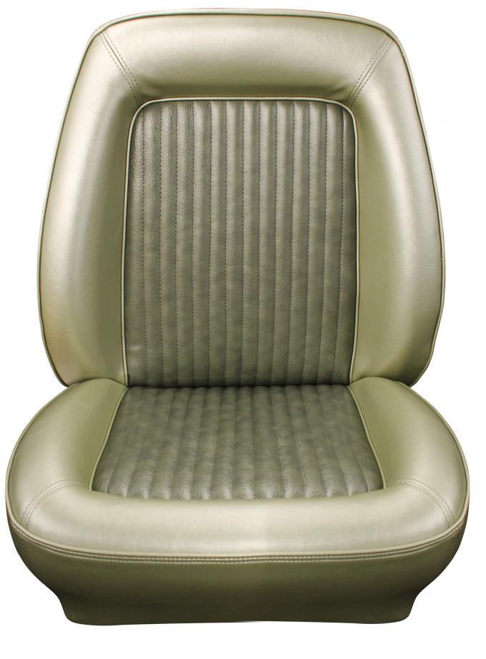 Distinctive Industries 1968 Mustang Standard Touring Front Bucket Seat Upholstery 068359
