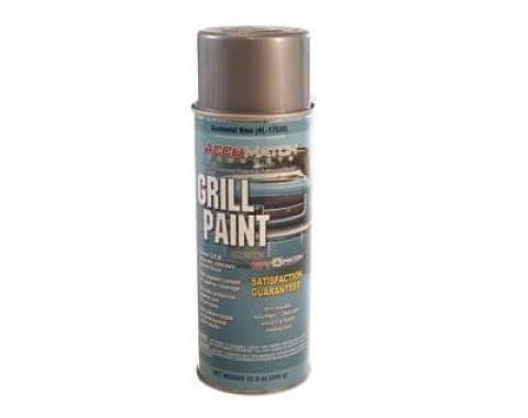 Scott Drake PAINT 64-5 GRILL Gunmetal BLUE L-17530