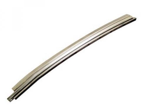 Scott Drake 69-70 FB DOOR GLASS MOLDING RH D0ZZ-6322220-A