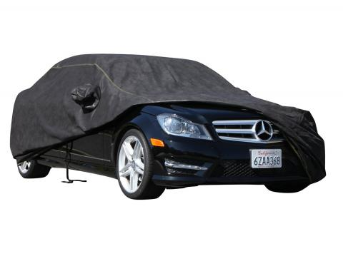 FORD MUSTANG Breathable Pro Series Car Cover, Black with Mirror Pockets, 1994-2016