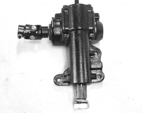 Steering Gear Box, 16:1 Radio, Manual Steering, 1967-1970