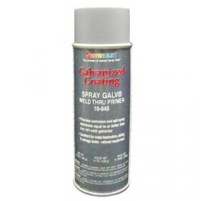 Cold Galvanizing Weld-thru Primer , Zinc, 15 Oz. Spray Can