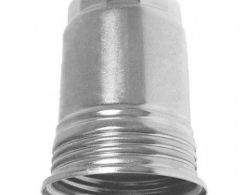 Ford Thunderbird Fuel Pump Filter Canister, Plain Steel Finish, 1962-66