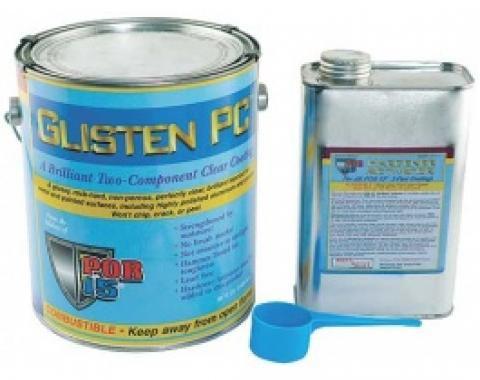 Glisten PC, Clear Coat, Gloss, 1 Gallon