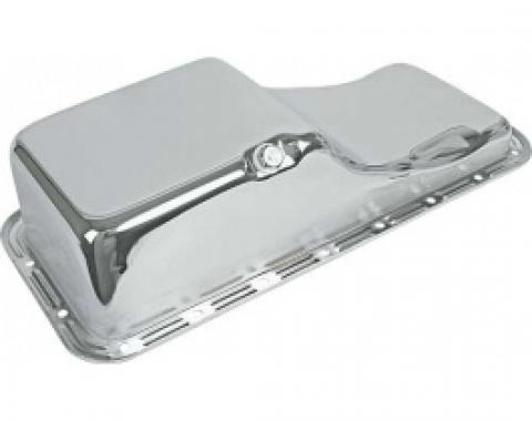 Ford Thunderbird Oil Pan, Chrome, 390 & 428 V8, 1965-66