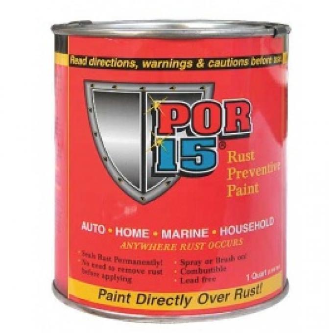 POR-15 Rust Preventive Paint, Gloss Black, 1 Quart