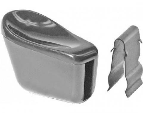 Daniel Carpenter Ford Thunderbird Manual Seat Adjustment Knob, Front Bucket Seat, Black Plastic, Incl Clip, Repro, 1961-63 C5AZ-6261753