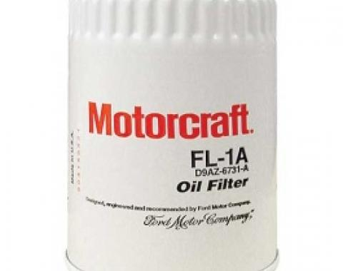 Ford Thunderbird Oil Filter, Spin-On Type, Motorcraft Brand, 1957-66