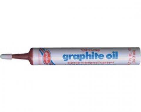Speedometer Cable Lubricant, Special Graphite Type, 1/2 Fluid Oz., 1955-79