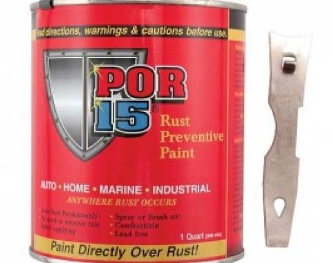 POR-15 Rust Preventive Paint, Silver, 1 Quart
