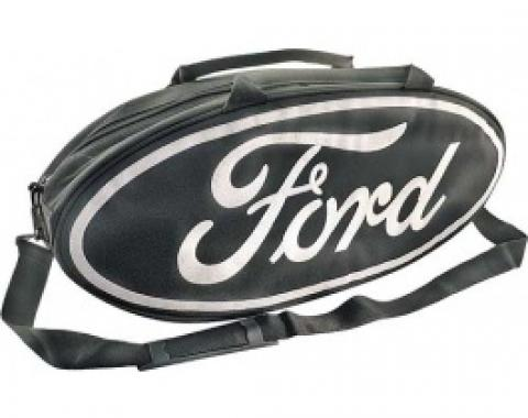 GoBox, Canvas, Black Nylon/Polyester With A White Ford Logo