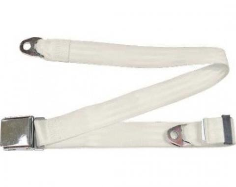 "Seatbelt Solutions 1949-1979 Ford | Mercury Lap Belt, 74"" with Chrome Lift Latch 1800749000 