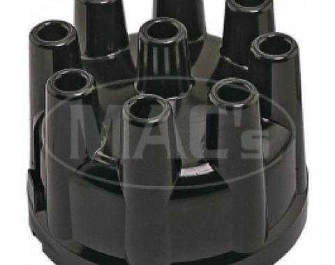 Ford Thunderbird Distributor Cap, Replacement, Black, Aluminum Contacts, For All Engines, 1957-66