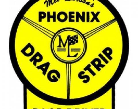 Decal, Phoenix Dragstrip Race Driver