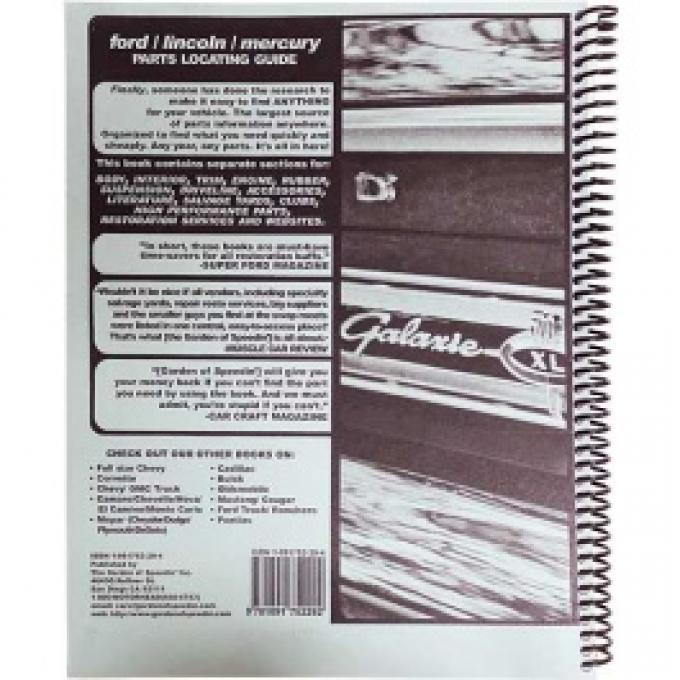 Ford Restoration Sources, 100 Pages