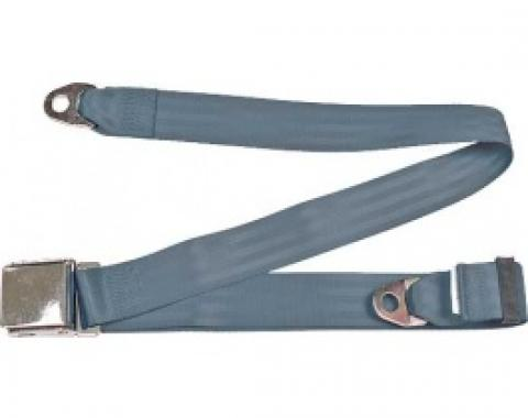 """SeatBelt Solutions Ford Thunderbird Retractable Lap Belt,  60"""" with Chrome Lift Latch HL1800H604002 