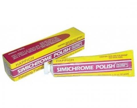 Simichrome Polish, For Brass, Chrome Or Nickel, 1.76 Oz. Tube