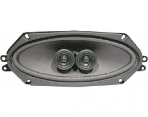 Ford Thunderbird Dual Voice Coil Speaker Assembly, Mounts In Dash, 1964-66